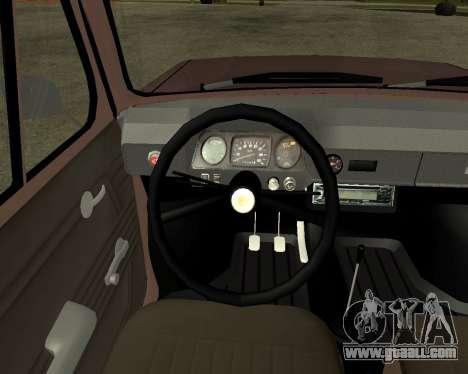 ZAZ 968M Armenia for GTA San Andreas side view