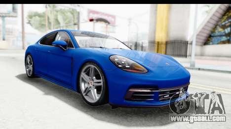 Porsche Panamera 4S 2017 v1 for GTA San Andreas