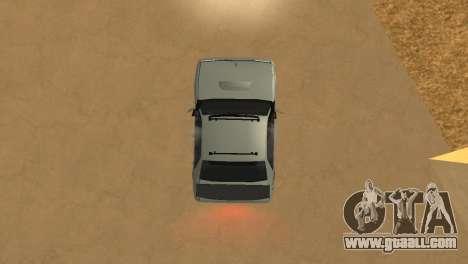 Super Sultan for GTA San Andreas back view