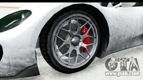 GTA 5 Pfister 811 SA Lights for GTA San Andreas back view