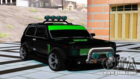 VAZ 21213 Niva 4x4 Tuning for GTA San Andreas