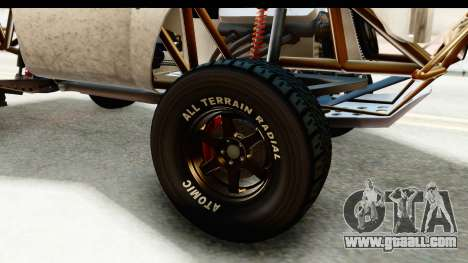 GTA 5 Trophy Truck IVF for GTA San Andreas back view