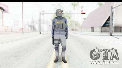 Quantum Break Monarch Operators for GTA San Andreas second screenshot