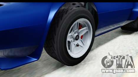 GTA 5 Lampadati Tropos Rallye No Headlights IVF for GTA San Andreas back view