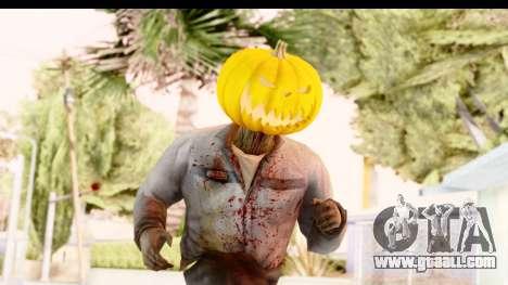Left 4 Dead 2 - Zombie Pumpkin for GTA San Andreas