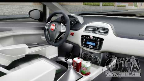 Fiat Linea 2015 v2 Wheels for GTA San Andreas inner view