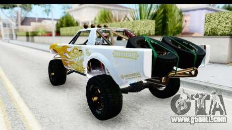 GTA 5 Trophy Truck IVF for GTA San Andreas upper view