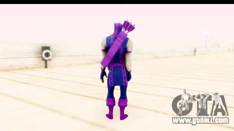 Marvel Heroes - Hawkeye for GTA San Andreas third screenshot