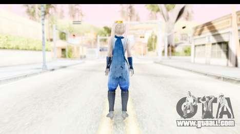 DoA 5: LR - Marie Rose Ninja for GTA San Andreas third screenshot