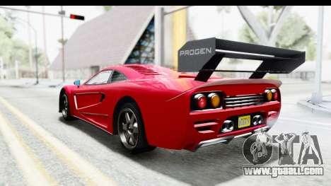 GTA 5 Progen Tyrus for GTA San Andreas left view