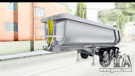 Trailer Volvo Dumper for GTA San Andreas