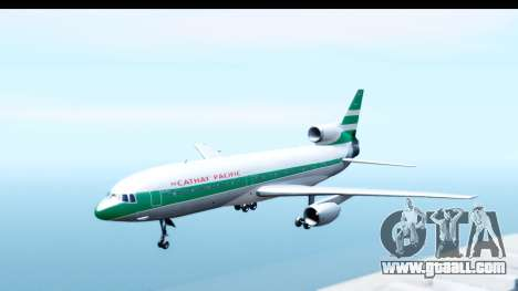 Lockheed L-1011-100 TriStar Cathay Pacific Air for GTA San Andreas back left view