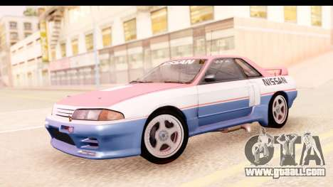 Nissan Skyline Group A for GTA San Andreas back left view