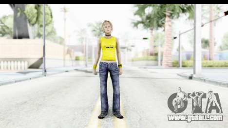 Silent Hill 3 - Heather Sporty Yellow Glasses for GTA San Andreas second screenshot