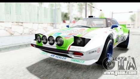 GTA 5 Lampadati Tropos Rallye No Headlights IVF for GTA San Andreas bottom view
