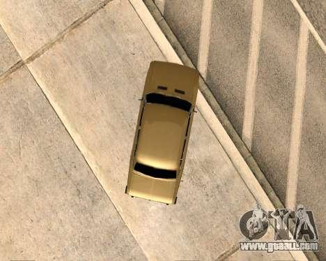 VAZ 2106 Armenian for GTA San Andreas inner view