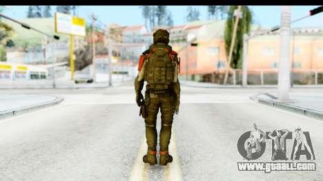 Homefront The Revolution - KPA v1 Captain for GTA San Andreas third screenshot