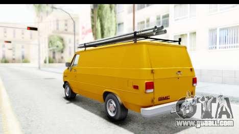 GMC Vandura 1985 HQLM for GTA San Andreas