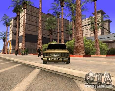 VAZ 2106 Armenian for GTA San Andreas side view
