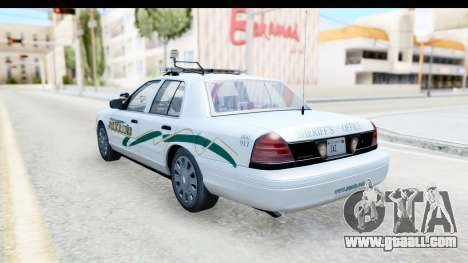 Ford Crown Victoria 2009 Southern Justice for GTA San Andreas left view