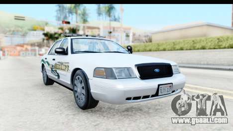 Ford Crown Victoria 2009 Southern Justice for GTA San Andreas right view