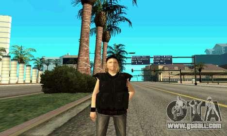 Female trainer SWAT for GTA San Andreas