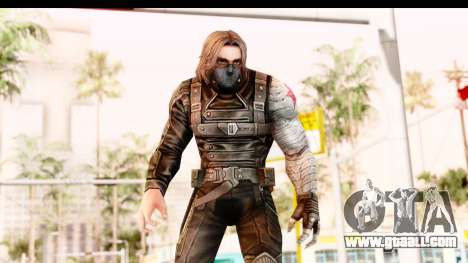 Marvel Future Fight - Winter Soldier for GTA San Andreas