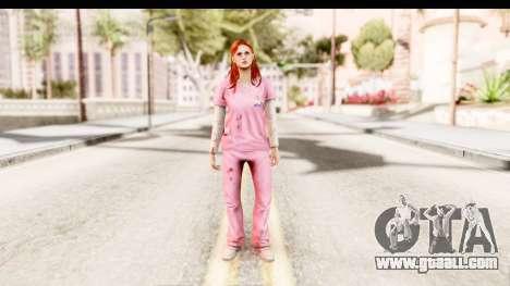 Silent Hill Shattered Memories - Lisa Garland for GTA San Andreas second screenshot