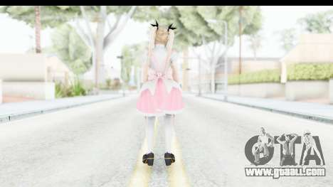 DoA 5: LR - Marie Rose Maid Remade for GTA San Andreas third screenshot