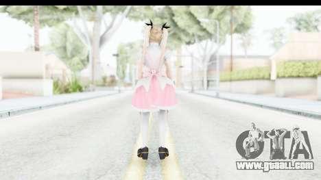 DoA 5: LR - Marie Rose Maid Remade for GTA San Andreas third screenshot