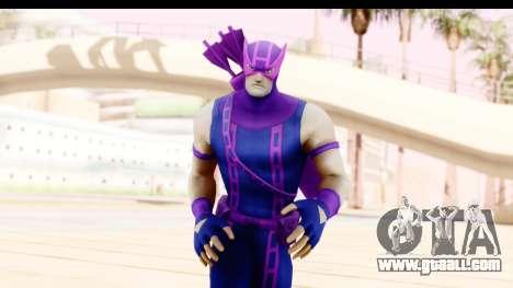 Marvel Heroes - Hawkeye for GTA San Andreas
