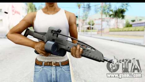 H&K XM8 Drum Mag for GTA San Andreas third screenshot