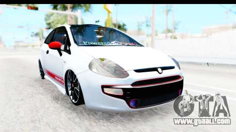 Fiat Punto Abarth for GTA San Andreas left view