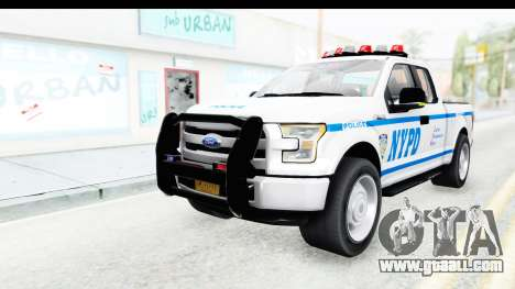 Ford F-150 Police New York for GTA San Andreas