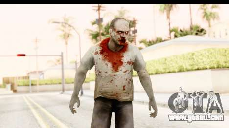 Left 4 Dead 2 - Zombie T-Shirt for GTA San Andreas