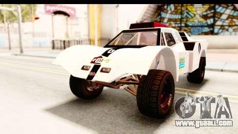 GTA 5 Desert Raid SA Lights PJ for GTA San Andreas bottom view