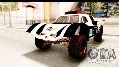 GTA 5 Desert Raid SA Lights PJ for GTA San Andreas side view