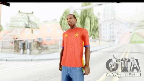 Spain Home Kit 2016 for GTA San Andreas second screenshot