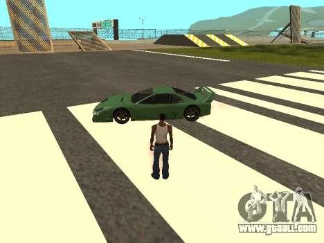 Cars spawn for GTA San Andreas forth screenshot