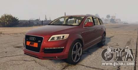 Audi Q7 AS7 ABT 2009 for GTA 5