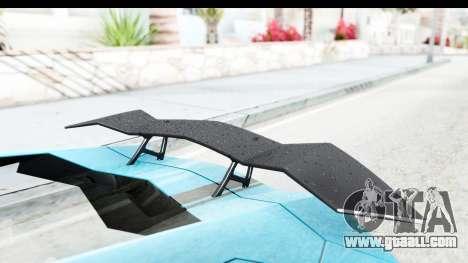 Lamborghini Aventador LP700-4 2012 for GTA San Andreas upper view