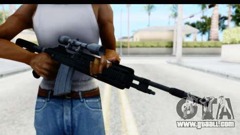 GTA 5 Vom Feuer Marksman Rifle for GTA San Andreas third screenshot