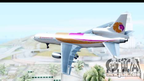 Lockheed L-1011-100 TriStar Hawaiian Airlines for GTA San Andreas right view