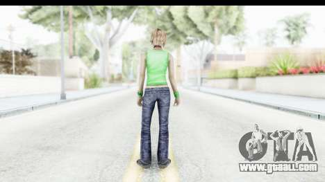 Silent Hill 3 - Heather Sporty Green Evolution for GTA San Andreas third screenshot