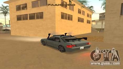 Super Sultan for GTA San Andreas back left view