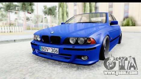 BMW 525i E39 M Tech for GTA San Andreas