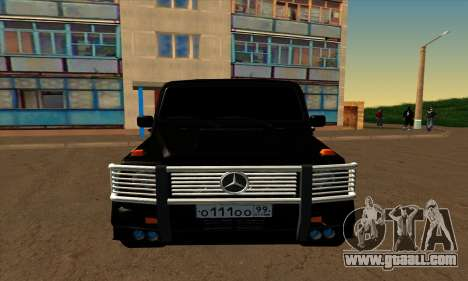 1999 Mercedes-Benz G55 AMG Brabus for GTA San Andreas left view