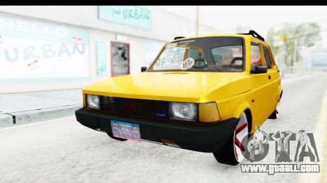 Fiat Spazio Tr Street for GTA San Andreas