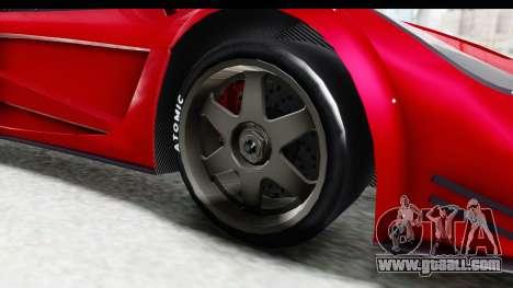 GTA 5 Progen Tyrus for GTA San Andreas back view