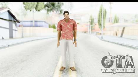 Yakuza 5 Kazuma Kiryu Okinawa for GTA San Andreas second screenshot